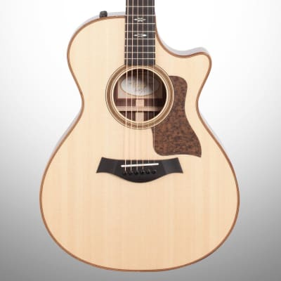 Taylor 712ce Grand Concert Acoustic-Electric Guitar (with Case), Natural