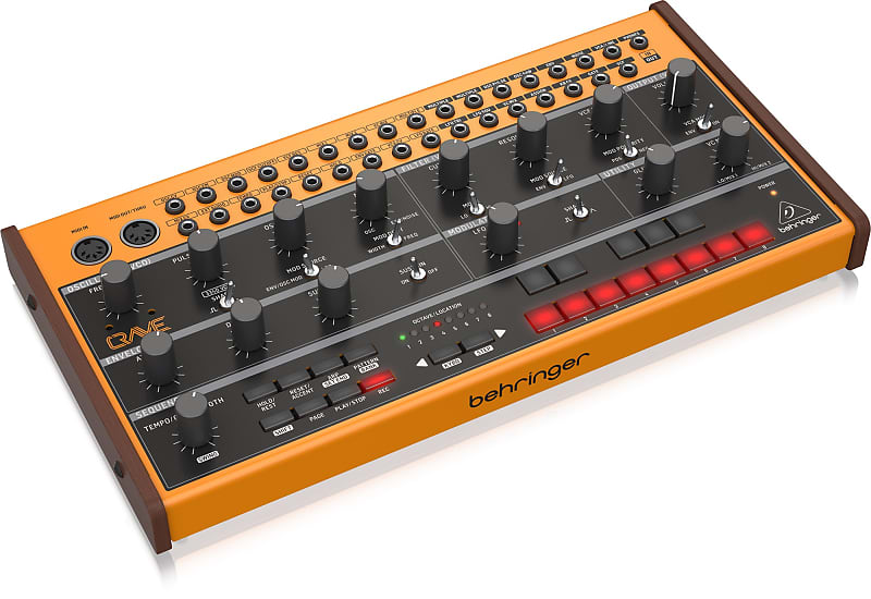 Behringer Crave Semi-Modular Analog Synthesizer w/ Sequencer