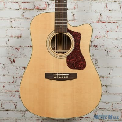 Guild D-140CE Acoustic/Electric Dreadnought Guitar Natural B-Stock x4840 for sale