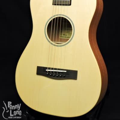 Journey PJ410N Puddle Jumper Solid Sitka Spruce Top Collapsible Travel Guitar for sale