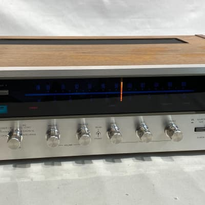 Lafayette LR-4000 AM/FM Stereo Receiver 1970's Silverface