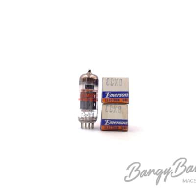 Vintage Emerson 8CX8 Triode Pentode Television Receiver Valve- BangyBang Tubes for sale