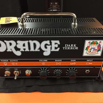 Orange DA15H Dark Terror 15-Watt High-Gain Guitar Amp Head