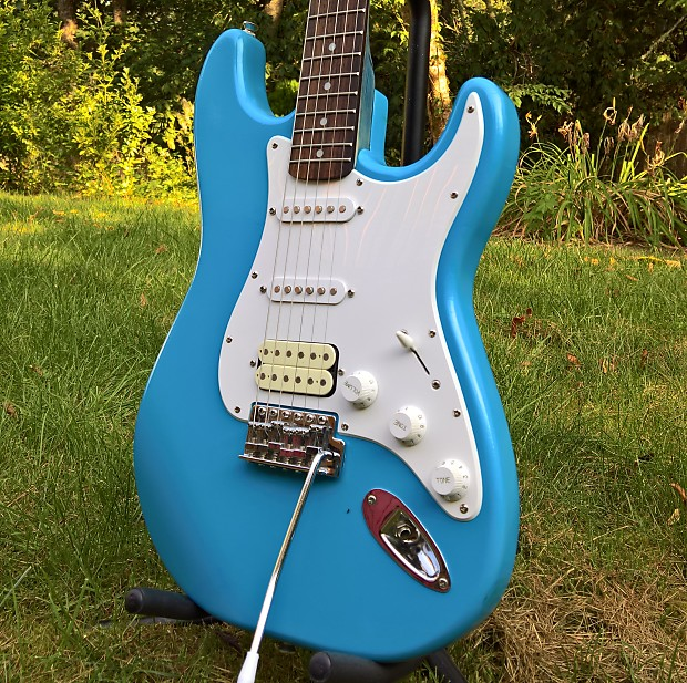 Squier Affinity Strat Wiring Diagram: Squier Affinity Stratocaster Stained Neck Refinish 2006
