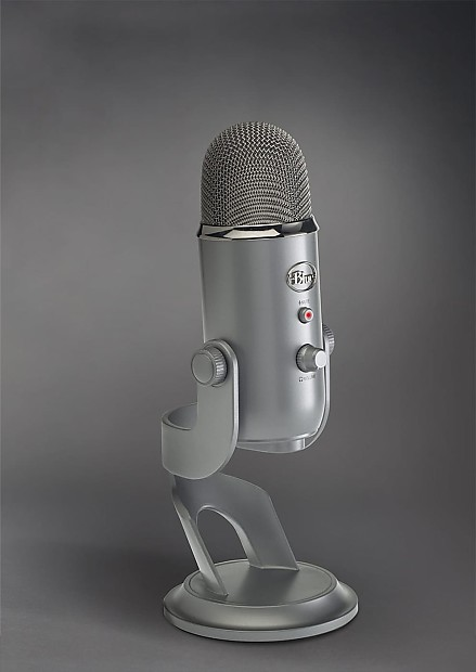 new blue yeti studio usb microphone professional recording reverb. Black Bedroom Furniture Sets. Home Design Ideas