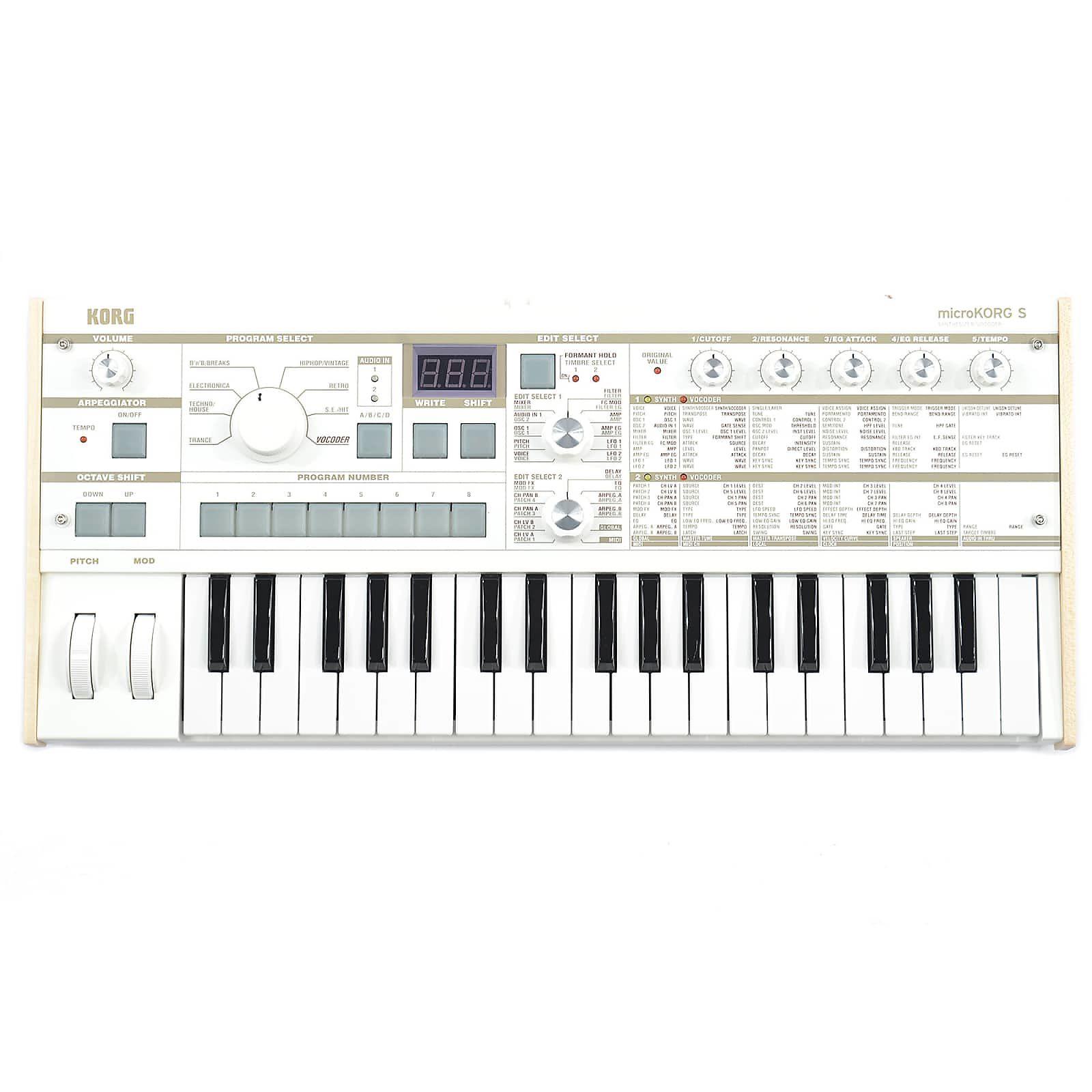 Korg MicroKorg-S Synth/Vocoder