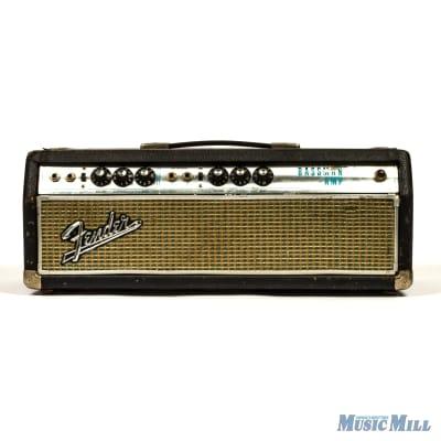 1968 Vintage Fender Bassman Silverface Amplifier Head (USED) for sale