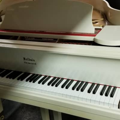 Baldwin Howard Grand Piano Ivory White