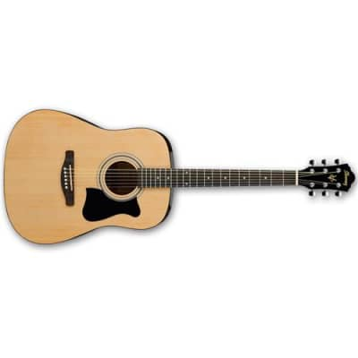 Ibanez Jampack IJV50 Dreadnought Acoustic Guitar Package, Includes Gig Bag, Chromatic Clip-on Tuner, Guitar Strap, Accessory Pouch, Picks for sale