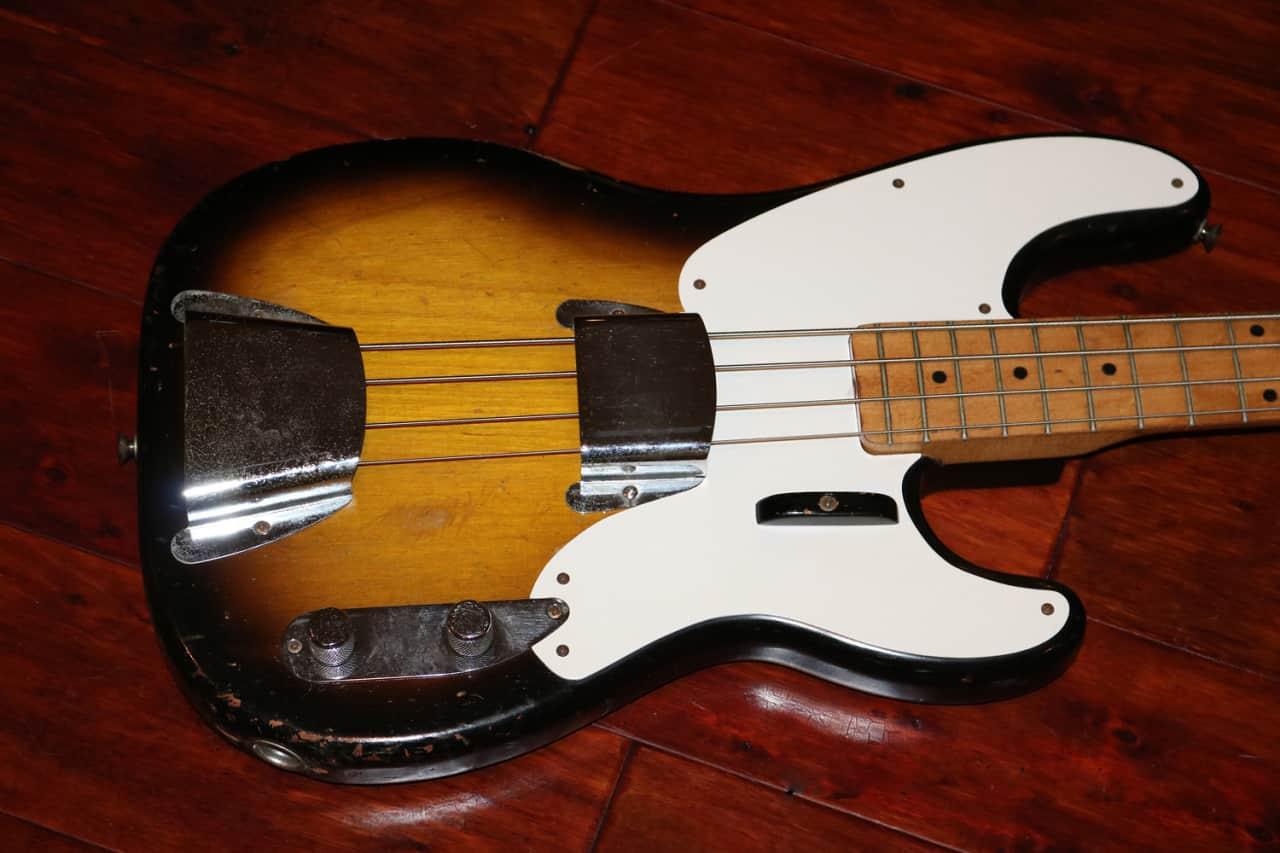 1957 fender precision bass gary 39 s classic guitars reverb. Black Bedroom Furniture Sets. Home Design Ideas