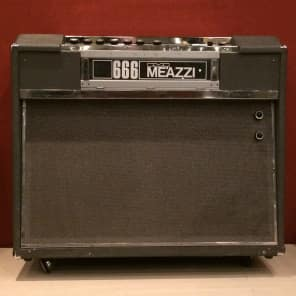vintage 1960s Italian bass organ combo amp MEAZZI Manager 666 tape echo-unit for sale