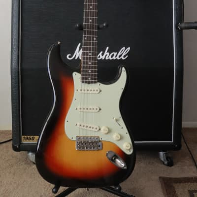62 Fender American Vintage Reissue Stratocaster with( Custom Neck) for sale