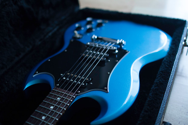 923eaf3a0 Gibson SG Special Blue Teal Flipflop  Limited