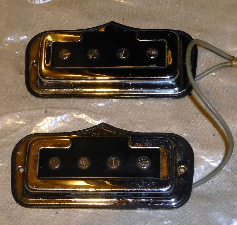 1967 fender coronado bass ii wiring harness and pickups complete factory  original read description