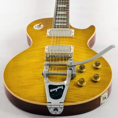 Gibson Gibson 1959 Les Paul VOS Bigsby, Custom Shop, Lemon Burst, Special Quote for sale