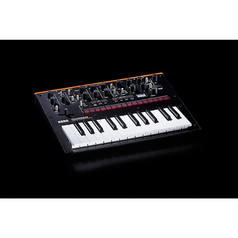 korg monologue monophonic analog synthesizer regular black reverb. Black Bedroom Furniture Sets. Home Design Ideas