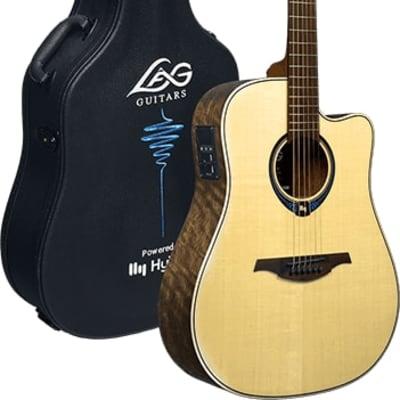 LAG Guitar THV20DCE Tramontane Hyvibe