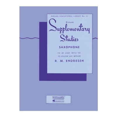 Rubank Supplementary Saxophone Studies