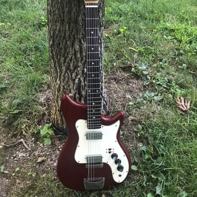 1960s Kapa CO-XII Continental 12 String Red for sale