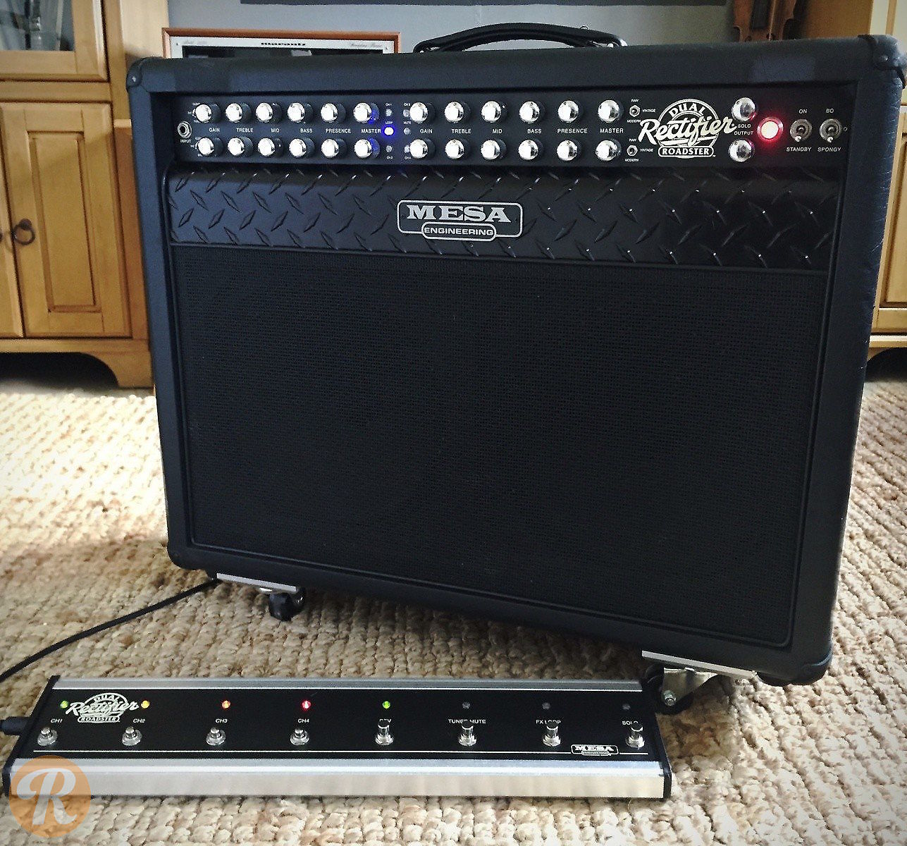 mesa boogie roadster dual rectifier 2x12 combo guitar reverb. Black Bedroom Furniture Sets. Home Design Ideas