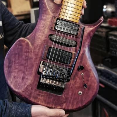 Voice  Purple 7 String  1997 Purple for sale
