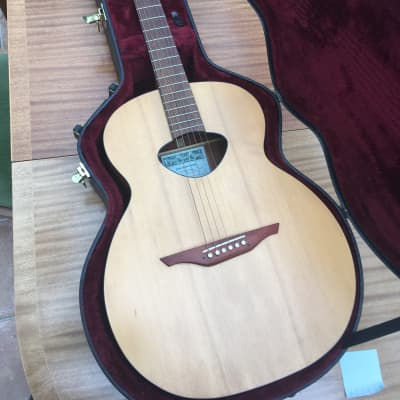 Rob Armstrong Handmade signed. Unique 6-string acoustic 1994 Spruce top, mahogany. Custom hard case. for sale