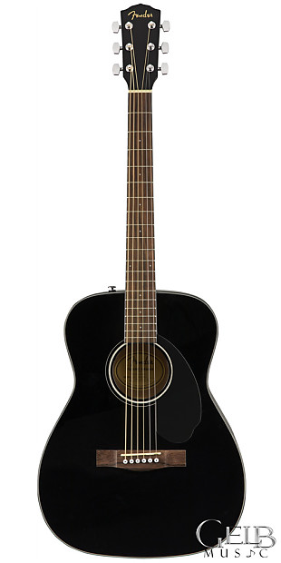 Fender CC-60S Concert Acoustic Pack Black
