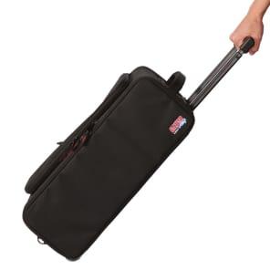 Gator GR-RACKBAG-2UW Lightweight 2U Rack Bag w/ Wheels & Handle