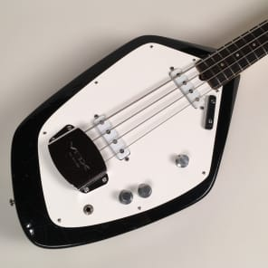 1964 Black Vox Phantom IV Bass UK-Made from Jim Ellison Collection with OHSC for sale