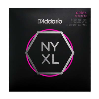 D'addario BOX (5 SETS)  NYXL Optimized Tension Strings for .strandberg* 8 String