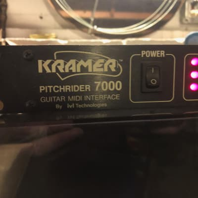 Kramer Pitchrider 7000 Midi Interface 1990 Black