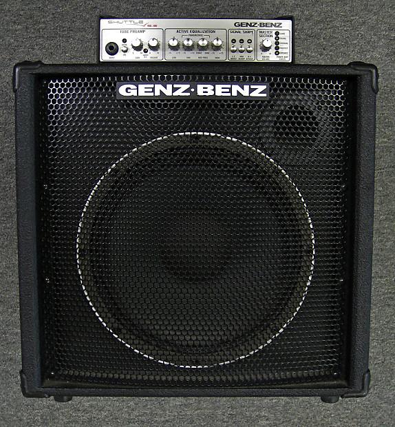 Genz Benz Shuttle 6 0 12t Combo Bass Amp Harbor Music