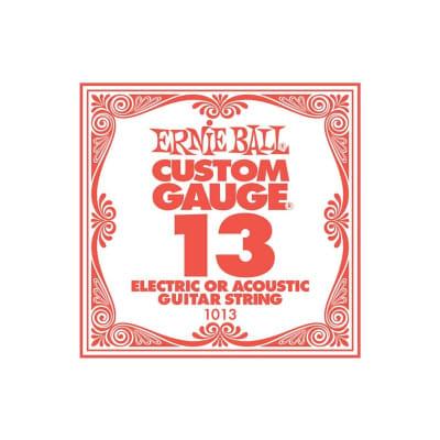 Ernie Ball 013 Plain Electric String