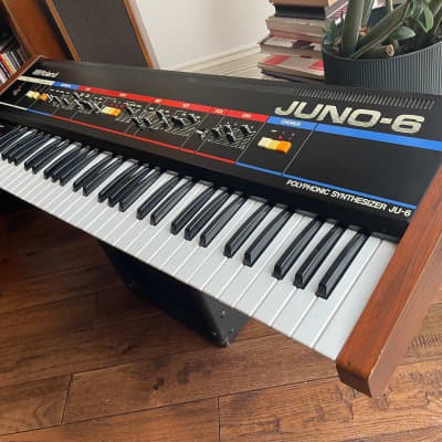 Super Clean Roland Juno-6 61-Key Polyphonic Synthesizer JU-6