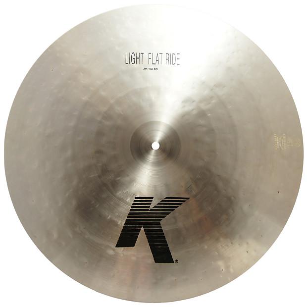 Zildjian 20 Quot K Series Light Flat Ride Cast Bronze Reverb