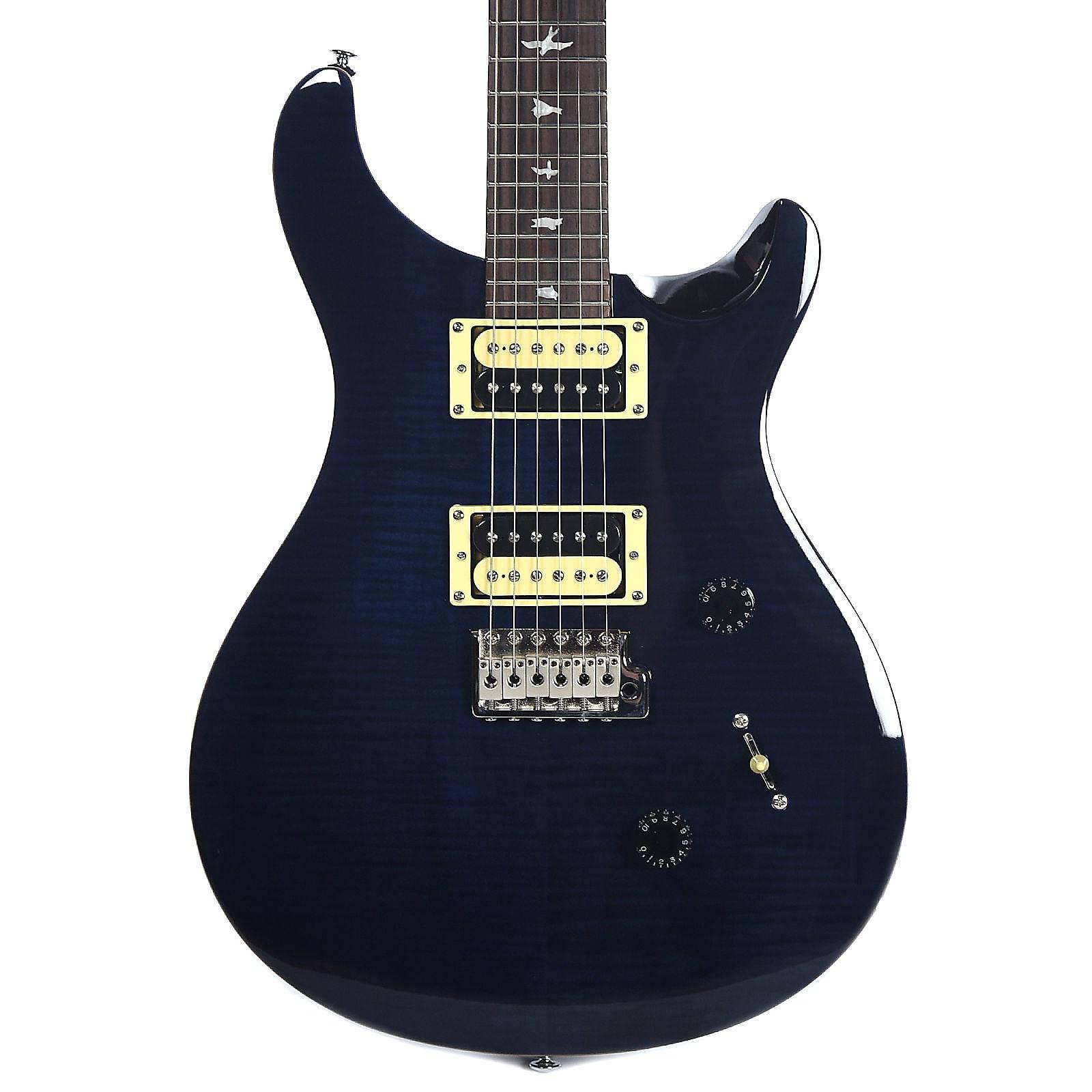 Paul Reed Smith PRS SE Custom 24 Electric Guitar Whale Blue w/ Gig Bag