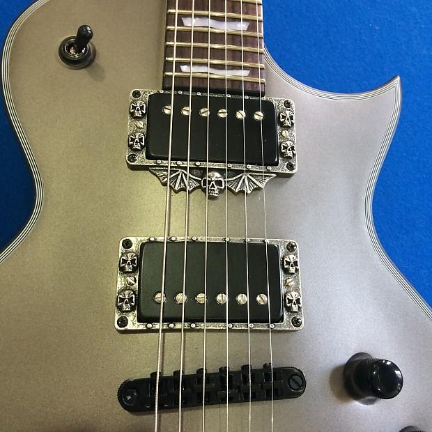 5 skull guitar parts for esp ltd guitar ec 1000 401 330 reverb. Black Bedroom Furniture Sets. Home Design Ideas