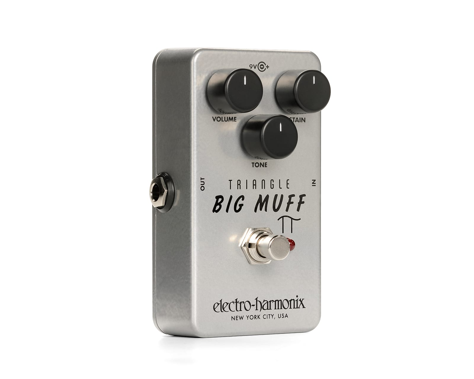 Electro-Harmonix EHX Triangle Big Muff Pi Fuzz / Distortion Effects Pedal