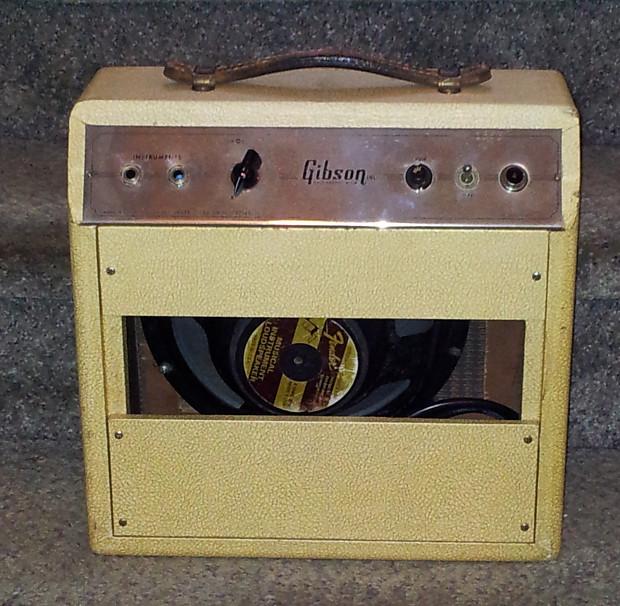 vintage 1957 gibson ga 5 guitar amplifier reverb. Black Bedroom Furniture Sets. Home Design Ideas