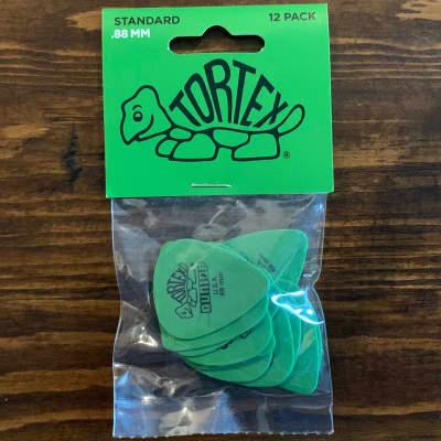 Dunlop 418P88 Tortex Standard .88mm Guitar Picks (12-Pack)