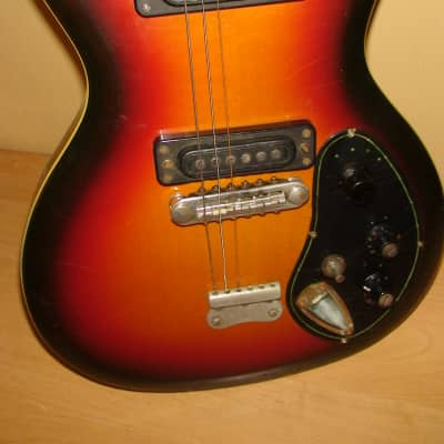 Musima Deluxe 25K GDR Germany Electric Guitar Vintage for sale