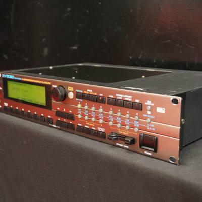 Roland XV-5080 Synthesiser Sound Module 2U Rack Mount Synth W/ MIDI - 100V