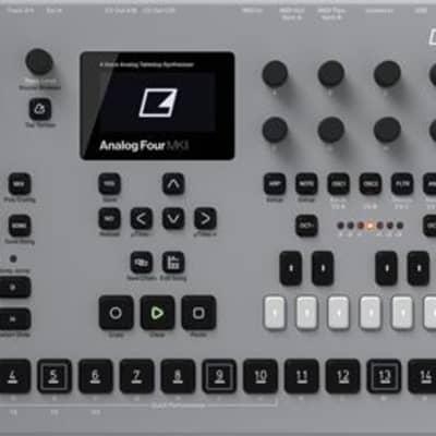 Elektron Analog Four MKII Desktop Analog Synthesizer