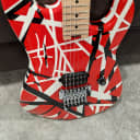 EVH Striped Series Electric Guitar Red/Black/White 2013 1st Production Year