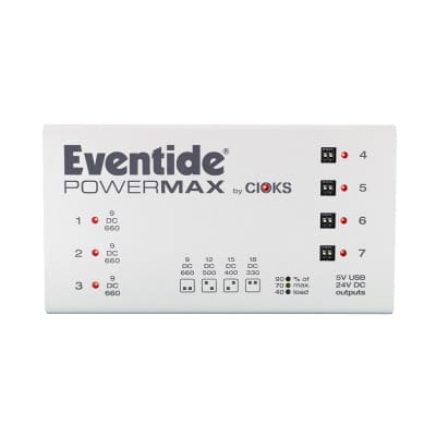 Eventide PowerMax by Cioks Rev2 Pedal Power Supply
