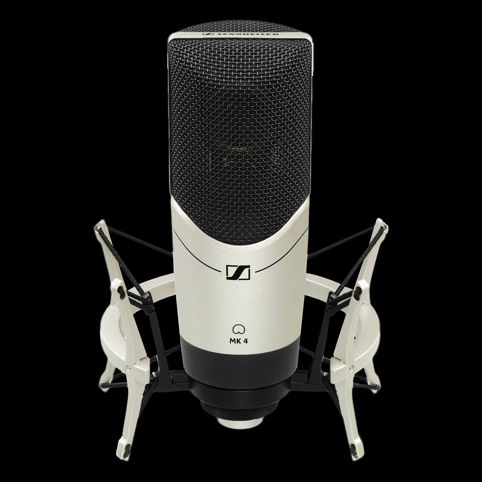 sennheiser mk4 digital cardioid condenser microphone reverb. Black Bedroom Furniture Sets. Home Design Ideas