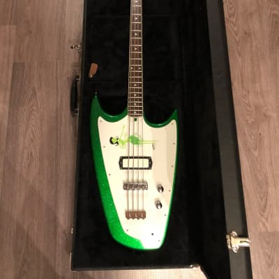Hallmark Swept-Wing Green Sparkle bass for sale
