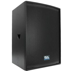 "Seismic Audio Lava-12Single Passive 1x12"" 600w Speaker"