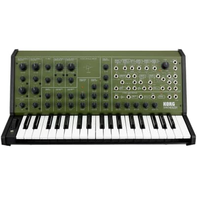 Korg MS-20 FS Monophonic Analog Synthesizer, 2 Oscillators, 37 Mini-Keys, Green