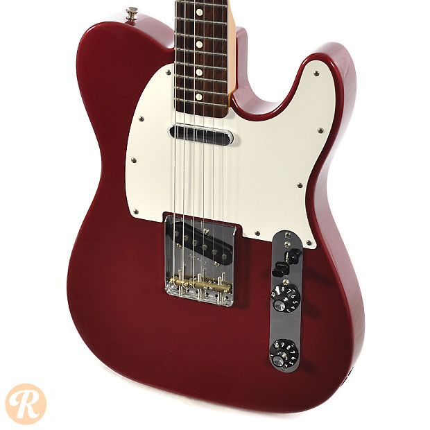 Fender Muddy Waters Telecaster 2000s Candy Apple Red Price ...